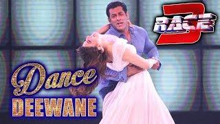 Salman Jacqueline का Heeriye Song पर Hot Dance | Dance Deewane | RACE 3 PROMOTION