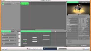Using MIDI Instruments in GarageBand
