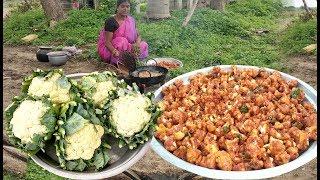 மொறுமொறுப்பான  காலிஃபிளவர் பக்கோடா இப்படி செஞ்சி அசத்துங்க  |  Cauliflower Pakoda
