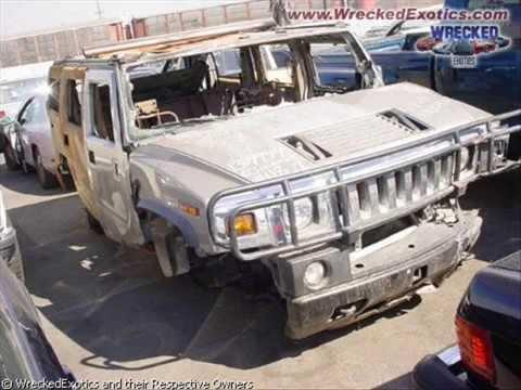 accidentes de coches de lujo cars crash very expensive