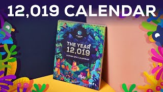 The 12,019 Calendar IS HERE – A new calendar for humanity