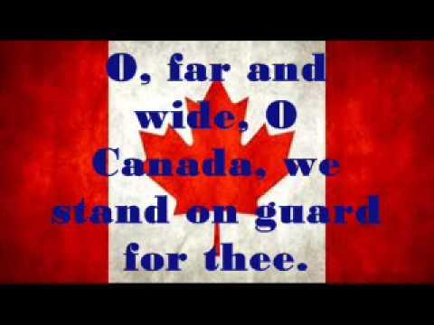 Canadian National Anthem Lyrics