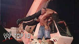 Extreme Attitude Adjustments - WWE Top 10