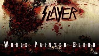 SLAYER- World Painted Blood Vinyl [Full Album] HD