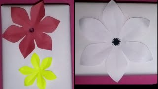 How to: Cutting 6 petal flower! :)