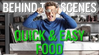 Jamie's New TV Show... The Bloopers   Quick and Easy Food   Channel 4   UK