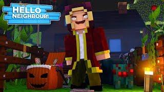 Minecraft Hello Neighbour - THE NEIGHBOUR'S HALLOWEEN PRANK!