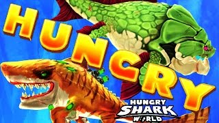 Hungry Shark World - All Sharks Supersized Montage (Atomic, Big Momma)