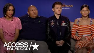 'Spider-Man: Homecoming': Tom Holland & Zendaya On The Anticipated Reboot   Access Hollywood
