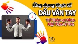 Trí Thông Minh Nôi Tâm Ở Trẻ Qua Dấu Vân Tay Online Education