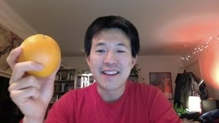 How to Peel an Orange the Easy Way!