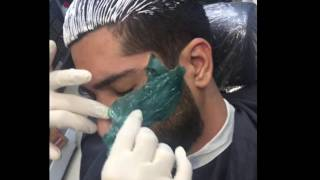 FACE WAXING FOR MEN LESS THAN 1 MINUTE [ A GREAT HAIR REMOVAL FOR YOU ] PAINLESS WAX FOR YOU