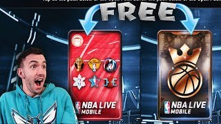 HOW TO GET A FREE KING OF THE COURT + CORNUCOPIA PACK IN NBA LIVE MOBILE!!