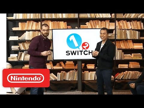 1 2 Switch – Nintendo Treehouse Live with Nintendo Switch