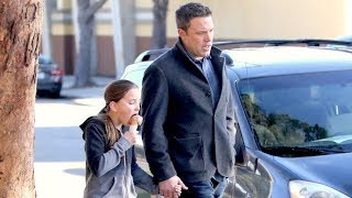 Ben Affleck Takes Adorable Daughter Seraphina Out For Ice Cream