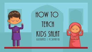 How to Teach Kids Salat - Nouman Ali Khan - illustrated | Subtitled