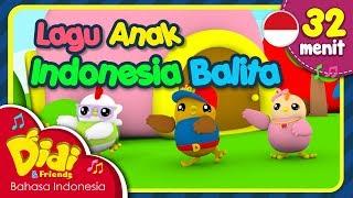 Lagu Anak Balita Indonesia   Didi & Friends   32 Menit