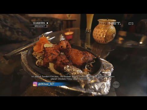 Chicken Tikka Buttei Masala Makanan Khas India Utara