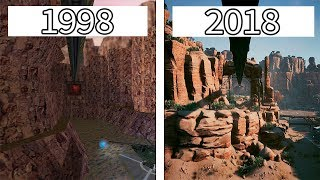 Half-Life | 1998 vs 2004 vs 2012 vs 2018 | Intro Graphics Comparison