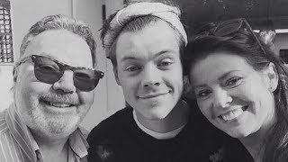 Harry Styles Mourns Death Of Stepfather & One Direction Bandmates Pay Tribute