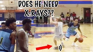 WHERE HIS ANKLES AT!? Hype Crowd Watches IMG Academy Win In Overtime!