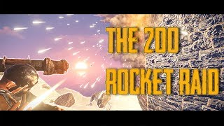 The 200 Rocket Raid on PP | Vanilla Rust