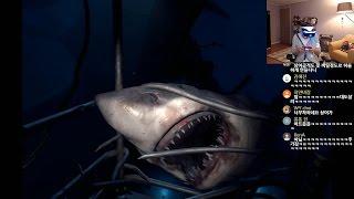 대도서관] PS VR 으악! 상어가 나타났다!! - VR월드 오션 디센트 (PS VR Worlds : Ocean Descent)