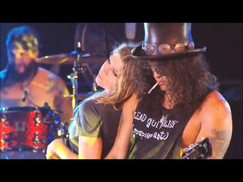 Fergie & Slash Sweet Child O Mine INTERVIEW