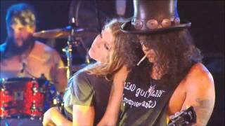 Fergie & Slash - Sweet Child O' Mine + INTERVIEW