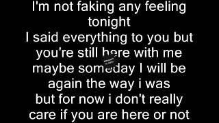 Feeling Every Sunset Heartless lyrics/letra