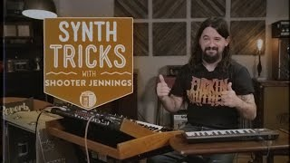 Synth Tricks: The Yamaha DX-7 and MiniMoog Voyager with Shooter Jennings