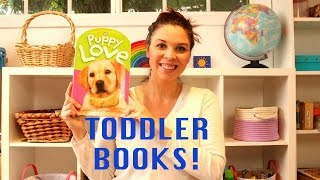 Best Books For Toddlers & Book Baskets - Books For 1 Year Old