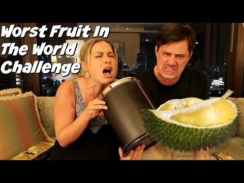 AMERICANS TRY DURIAN FRUIT CHALLENGE