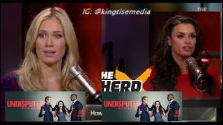 Why FS1 Moved Joy Taylor From Undisputed To The Herd Replacing Kristine Leahy