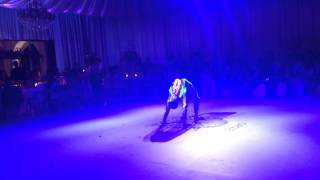 Contortion performace show by tom fashionista.
