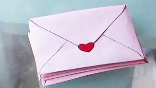 ✎ DIY, Fabrication d'une jolie enveloppe, tutoriel clair
