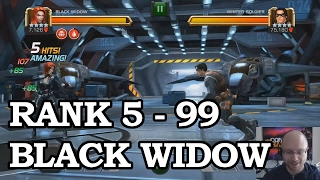 Black Widow Level Up | Marvel Contest of Champions
