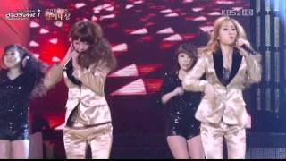 [111224]  KBS 2011 Entertainment Awards: SISTAR
