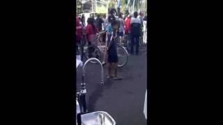 zamp pdam kota malang at car free day.wmv