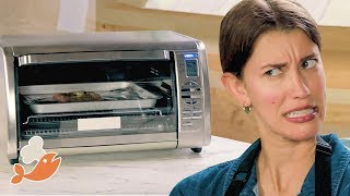 Can This Chef Make A 3-Course Meal With A Toaster Oven? • Tasty
