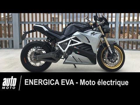 Energica Eva Moto électrique ESSAI POV Auto Moto