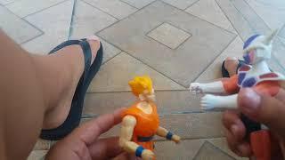 Dragon ball super em brinquedo #5 Gohan vs frieeza
