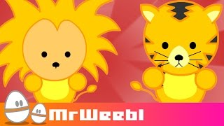 Kenya: Where Can You See Lions? : animated music video : MrWeebl
