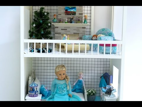 American Girl Doll Frozen Dollhouse and Collection