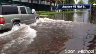 Localized Flooding: Aventura, FL June 7th