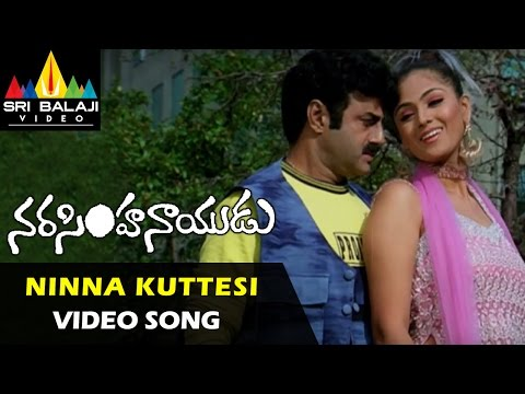 Xxx Mp4 Narasimha Naidu Songs Ninna Kuttesinaadi Video Song Balakrishna Simran Sri Balaji Video 3gp Sex