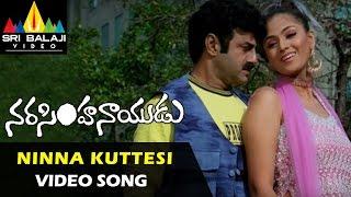 Narasimha Naidu Songs   Ninna Kuttesinaadi Video Song   Balakrishna, Simran   Sri Balaji Video