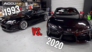 ALL the Differences between MK4 & MK5 Supra!