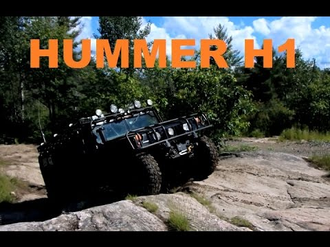 EXTREME 4X4 Off Road - HUMMER H1 OFF-ROAD on South Trail Black Lake