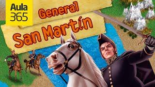 Biografía del General San Martín | Videos Educativos para Niños
